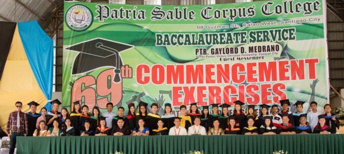 69th PSCC Commencement Exercises
